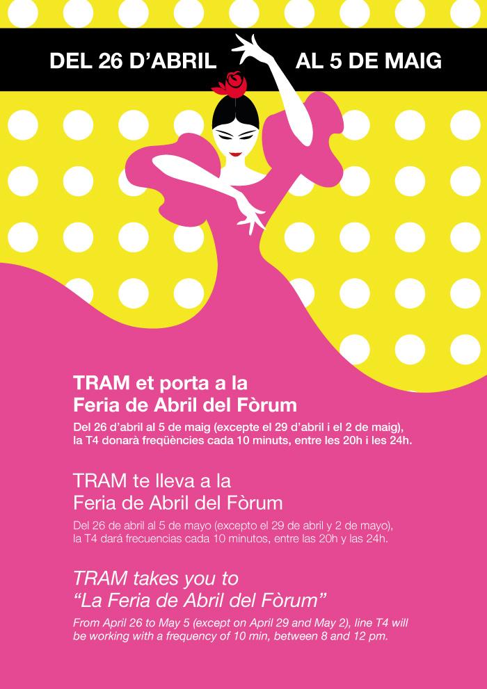 Avis TRAM Feria Abril