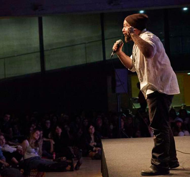 TRAM Poetry Slam